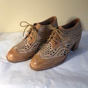 Jeffrey Campbell Fremont Laser Cut Leather Oxford